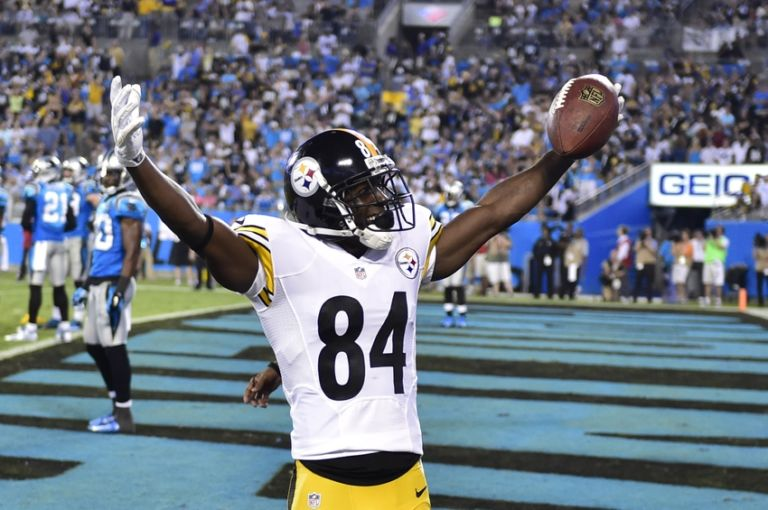 Antonio Brown Scores On Redskins Flagged For Celebration