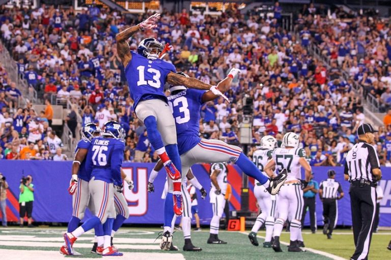 New York Giants Mike Sullivan Says Obj Loves To Practice