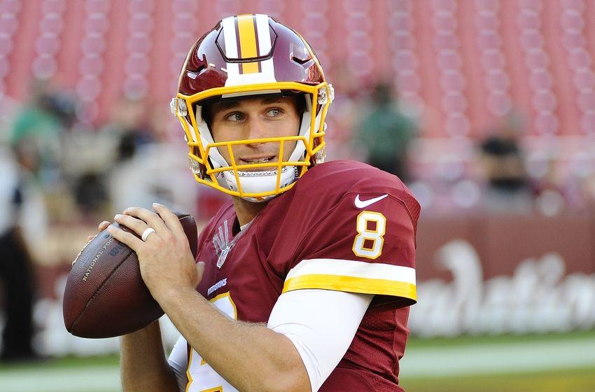 2016; Landover, MD, USA; Washington Redskins quarterback Kirk Cousins ...