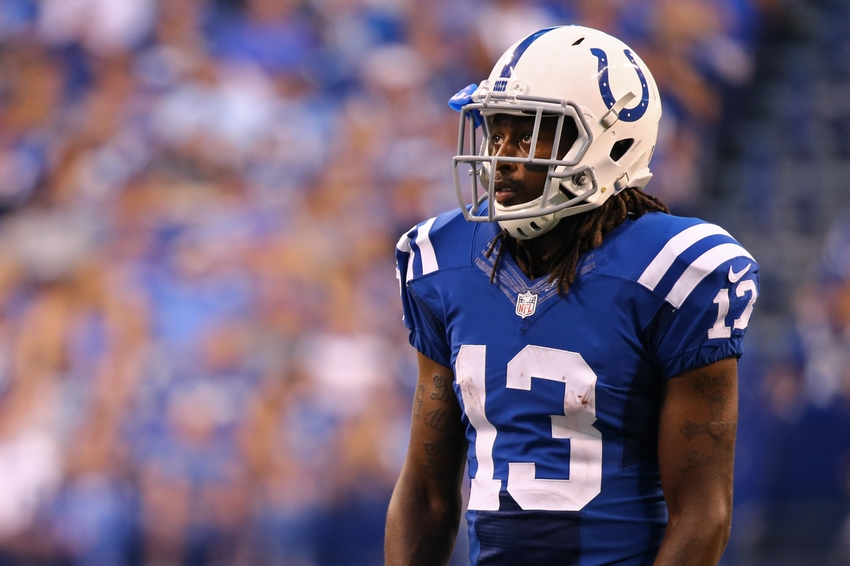 T Y Hilton Toes The Sideline For 33 Yards Video Vs