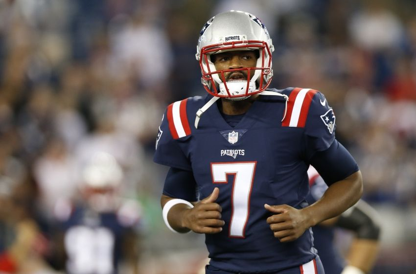 Jacoby Brissett Takes Off 27 Yards For First Nfl Touchdown