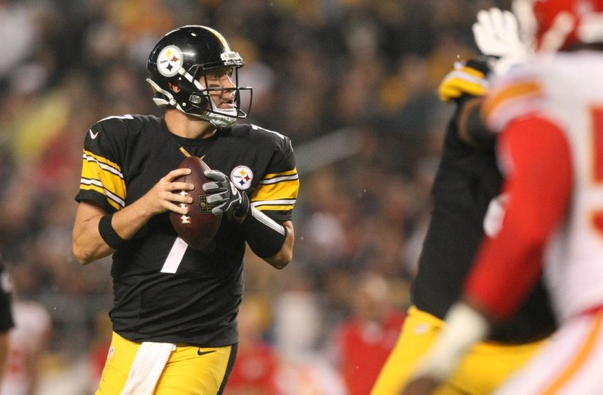 Big Ben lit up Kansas City for 300 yards and 5 TDs in Week 5