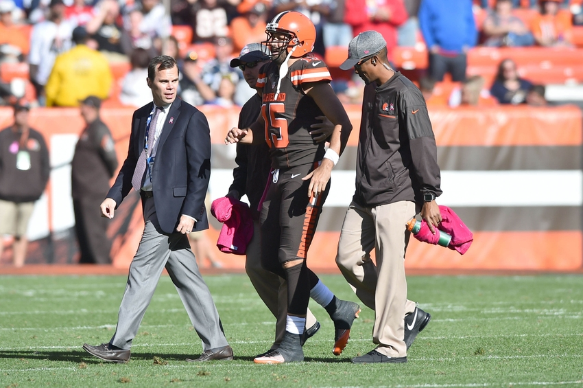 QB Josh McCown could return for black-and-blue Browns