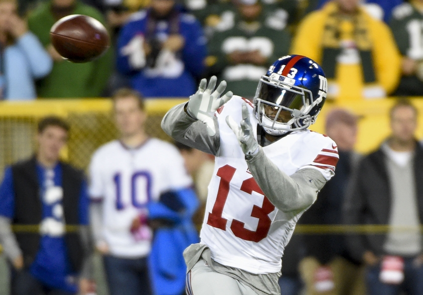 Odell Beckham Jr Squashes Beef With Kicking Net After Td