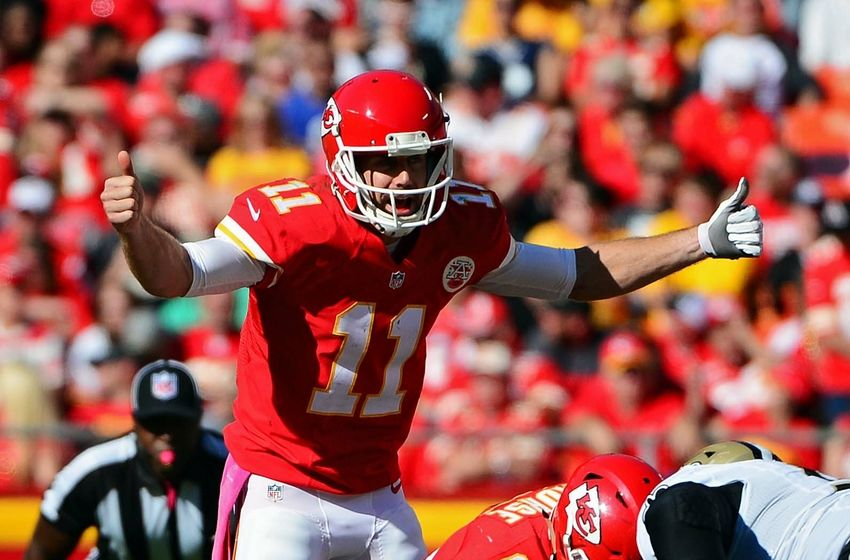Alex Smith Injury Update Chiefs Quarterback Leaves After