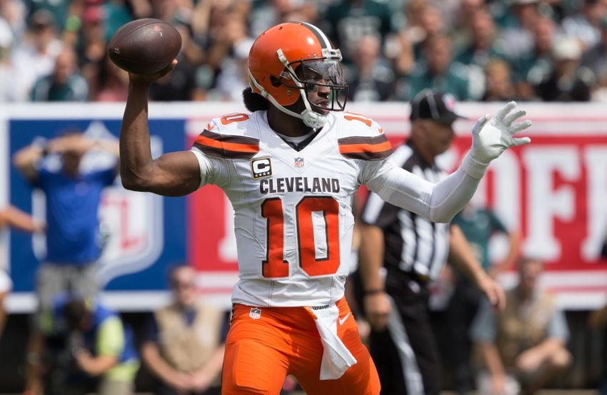 e768cbc06 Cleveland Browns Must Help Robert Griffin III Succeed