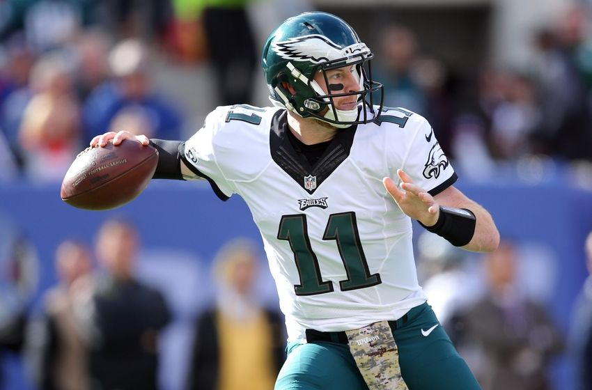Carson Wentz Throws A Bomb Leads To Eagles Touchdown Video