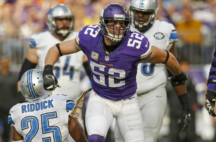 Chad Greenway Minnesota Vikings