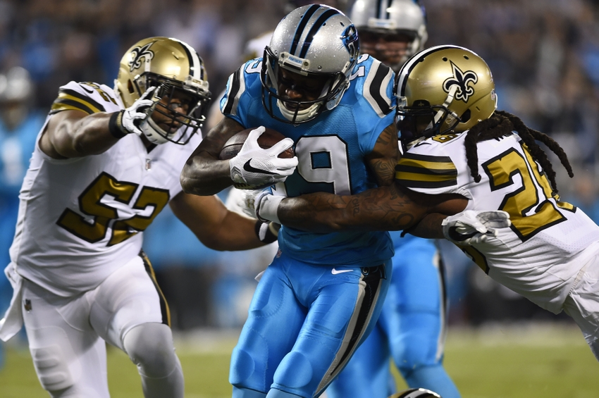 Ted Ginn Jr Drags Foot For Ridiculous Panthers Touchdown