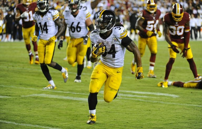DeAngelo Williams, Steelers vs Redskins, DeAngelo Williams Free Agent
