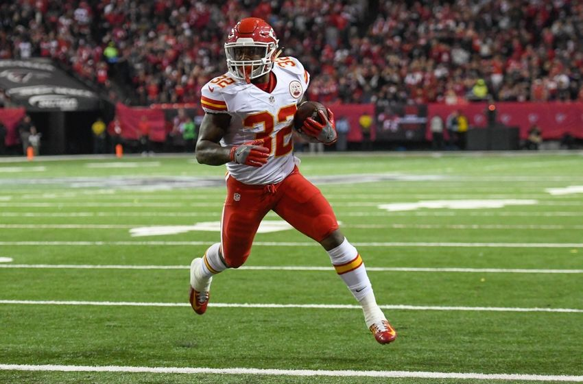 Spencer Ware Kansas City Chiefs
