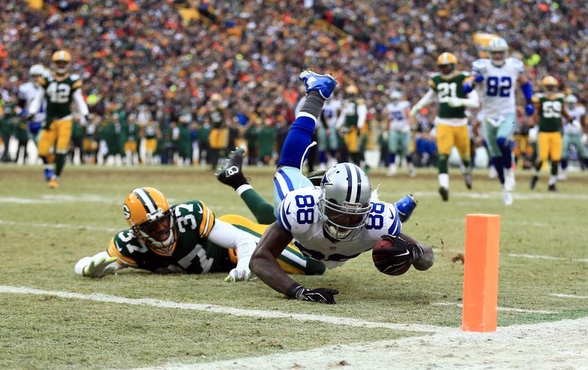 Dallas Cowboys vs Green Bay Packers: 'Dez Caught It