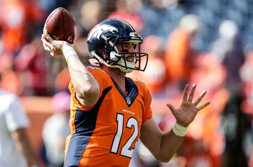 Paxton Lynch Denver Broncos