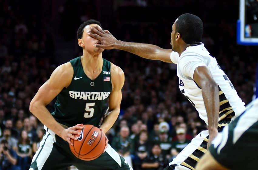 Spartans stave off Grizzlies in OT — COLLEGE BASKETBALL