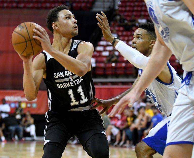 Bryn-forbes-nba-summer-league-san-antonio-spurs-vs-golden-state-warriors-768x623