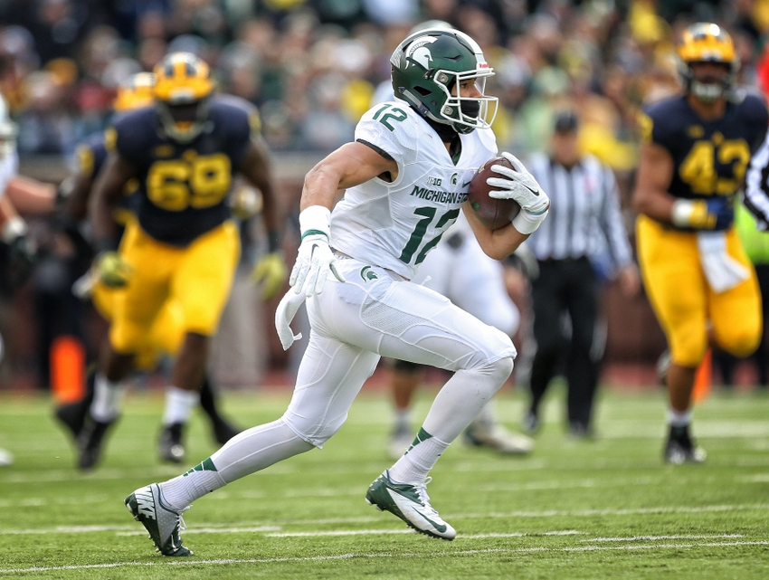 michigan state football beat spartans ncaa wide receiver reasons mi shelton