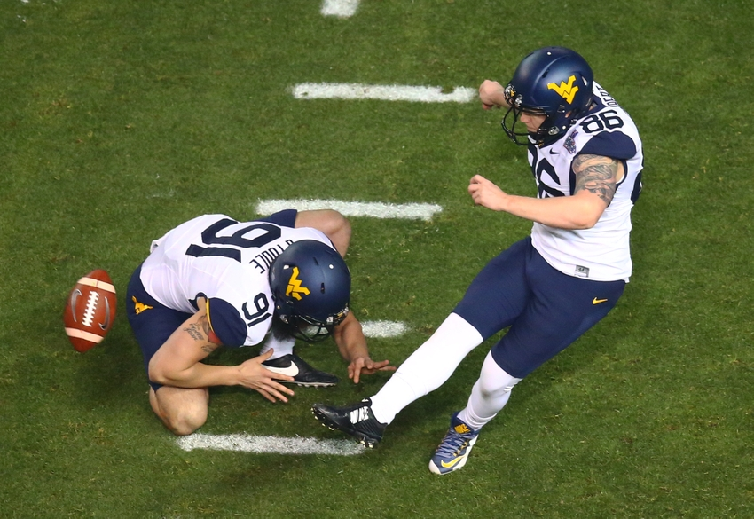 NCAA Football: Cactus Bowl-West Virginia vs Arizona State