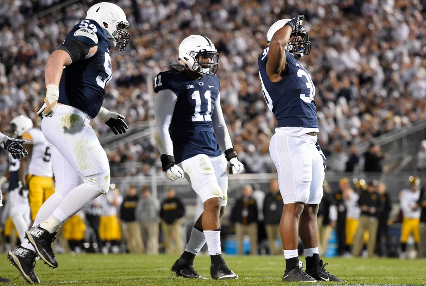 Penn State overwhelms Iowa with offensive fireworks