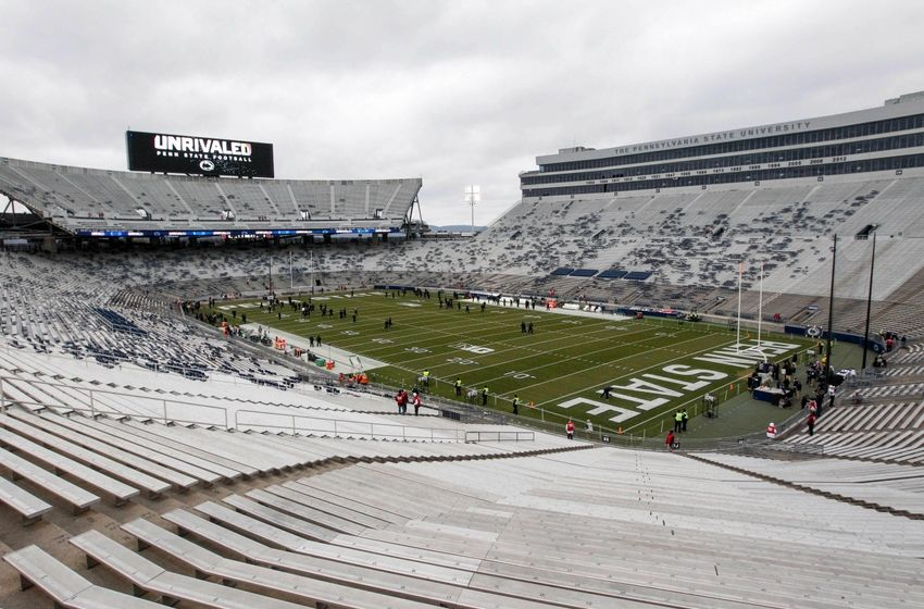 Nov 26, 2016; University Park, PA, USA; A general view of Beaver Stadium prior to the game between the Michigan State Spartans and the Penn State Nittany Lions. Mandatory Credit: Matthew O