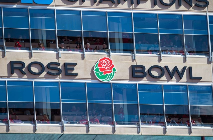 Oct 3, 2015; Madison, WI, USA; Rose Bowl signage in front of luxury boxes at Camp Randall Stadium during the game against the Iowa Hawkeyes. Iowa won 10-6. Mandatory Credit: Jeff Hanisch-USA TODAY Sports