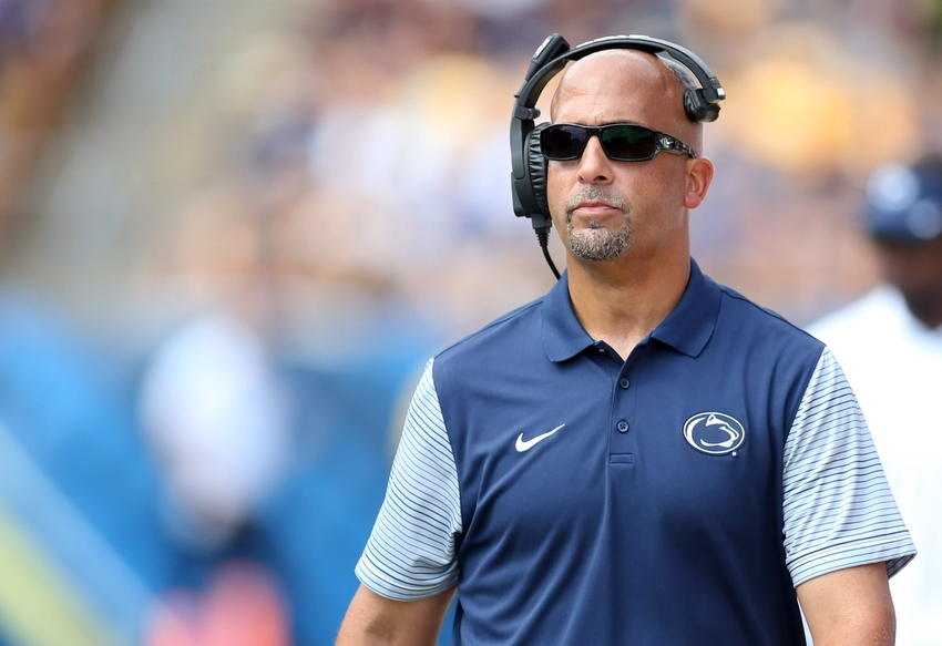 James Franklin Named Coach of the Year by the Sporting News
