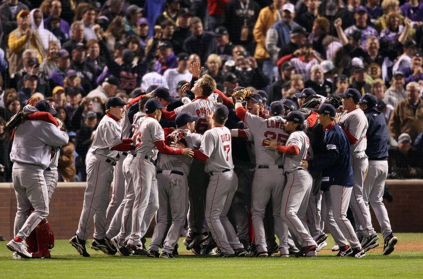sox 2004 ws celebration