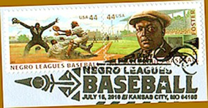 NL 42 negro league stamp