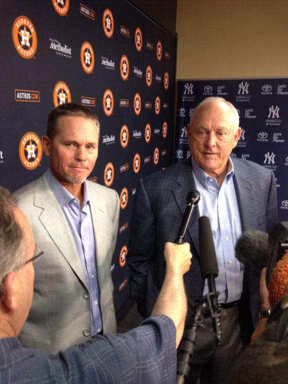 Craig Biggio and Nolan Ryan