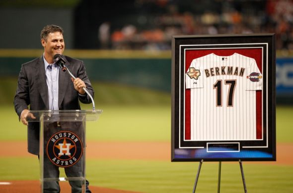 Lance Berkman 9Andrew Richardson-USA TODAY Sports)