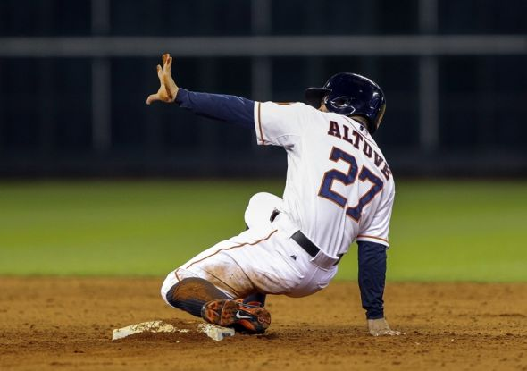 Jose Altuve is the Houston Astros MVP