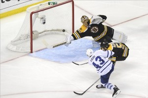 NHL: Stanley Cup Playoffs-Toronto Maple Leafs at Boston Bruins. Mandatory Credit: Bob DeChiara-USA TODAY Sports