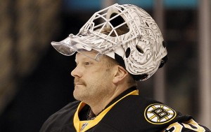 Tim Thomas is set to tryout for the Florida Panthers; Mandatory Credit: AP file photo