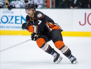 NHL: Anaheim Ducks Andrew Cogliano Mandatory Credit: Jerome Miron-USA TODAY Sports