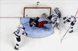 NHL: Los Angeles Kings at Columbus Blue Jackets. Mandatory Credit: Russell LaBounty-USA TODAY Sports