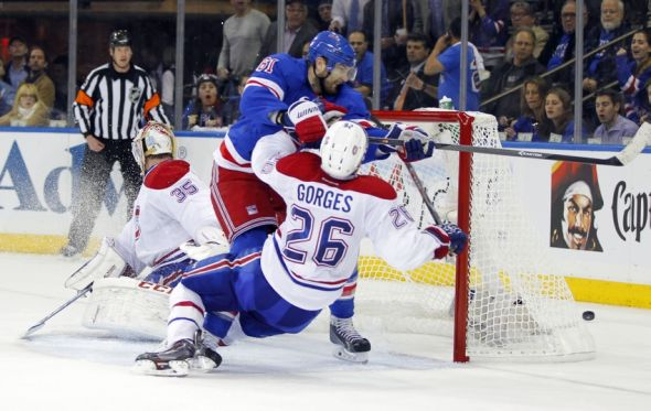 NHL: Stanley Cup Playoffs-. Mandatory Credit: Andy Marlin-USA TODAY SportsMontreal Canadiens at New York Rangers