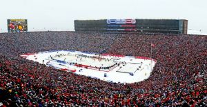 NHL Stadium Series: Mandatory Credit: Andrew Weber-USA TODAY Sports