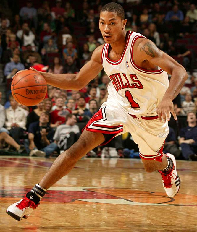 Derrick Rose is shooting less than 33 percent from the field so far this year.