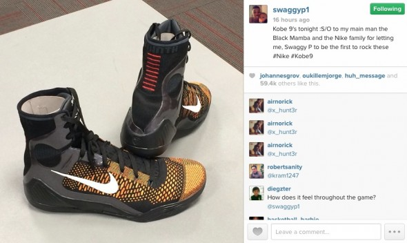 Swaggy P Shoes