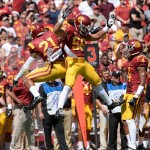Sep 14, 2013; Los Angeles, CA, USA; USC Trojans safety Su