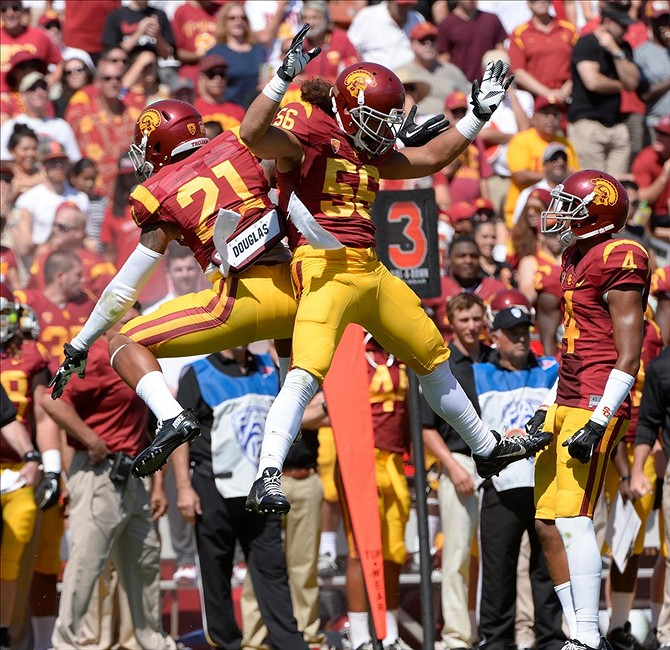 2013 USC Football Player Report Card: LB Anthony Sarao Usc Football Team 2013