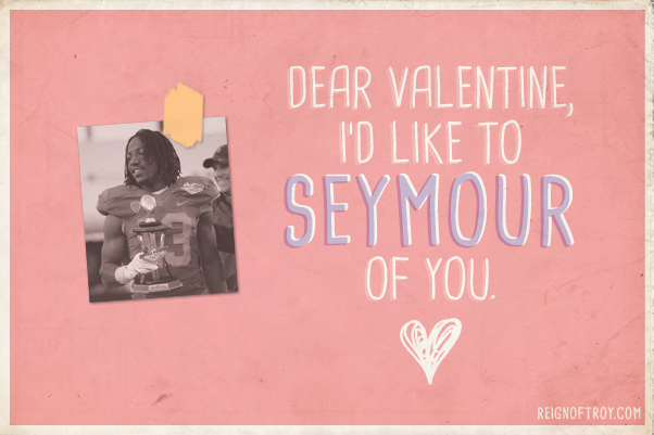 USC Football Valentines Day cards – Football Valentines Day Cards