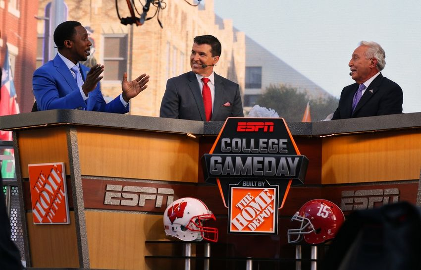 espn college gameday picks today who played football today
