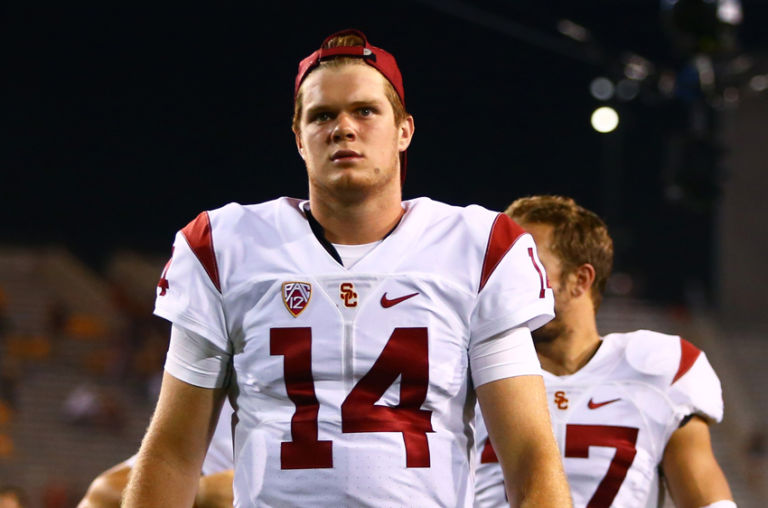 Can Red-Zone Sam Darnold Be USC's Tim Tebow?