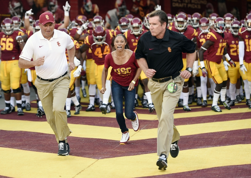 USC football played a complete game against ASU, their first in recent ...