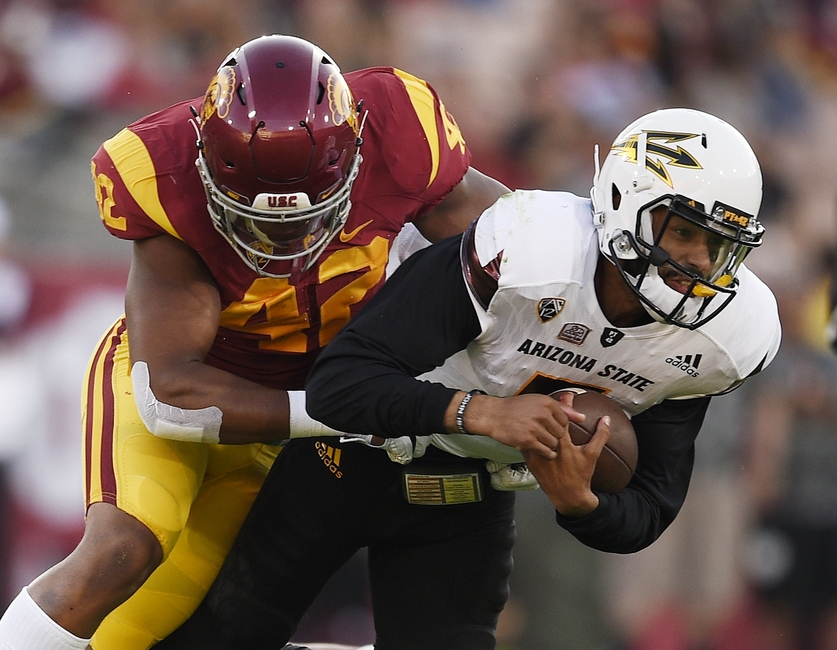 13ebc8fd2 USC vs ASU 2016  Who Were the Studs and Duds