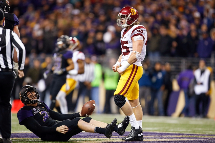 Sam Darnold leads USC to 26-13 upset of No. 4 Washington