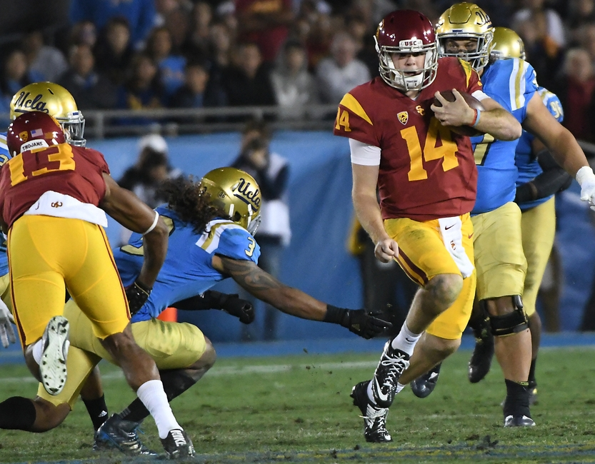 Sam Darnold led USC football to victory over UCLA.