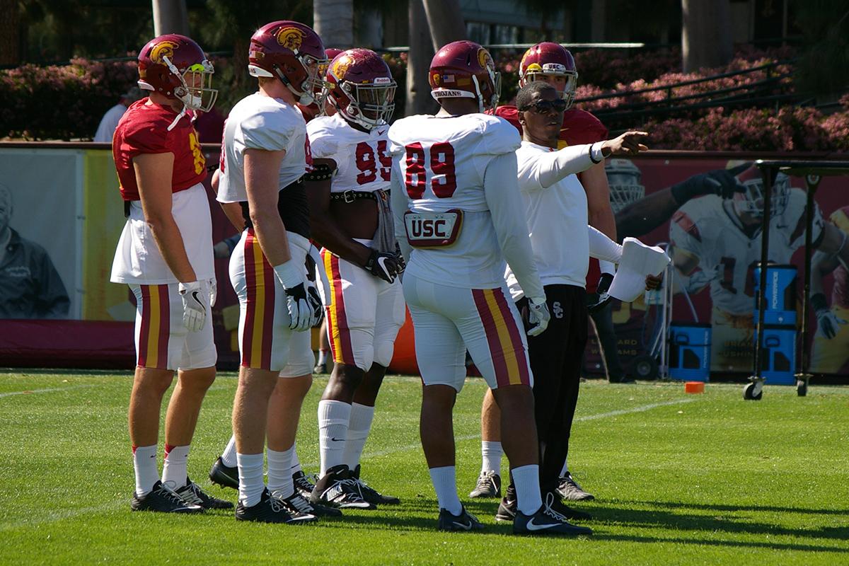 Deland McCullough: USC Football's New Coach of Principle
