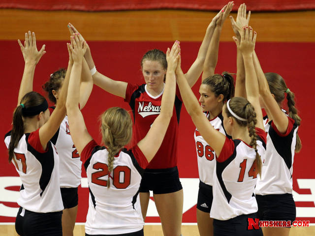 Nebraska Cornhuskers Volleyball Ladies Ups And Downs