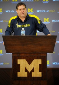 Coach Hoke Photo by Melanie Maxwell | AnnArbor.com